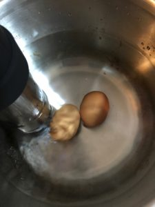 低温調理器ANOVAで温泉卵を作ってみた